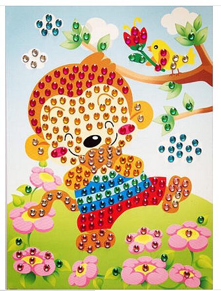 Mosaique cristal baby lol loisirs cr atifs magommette - Plaque mosaique autocollante ...