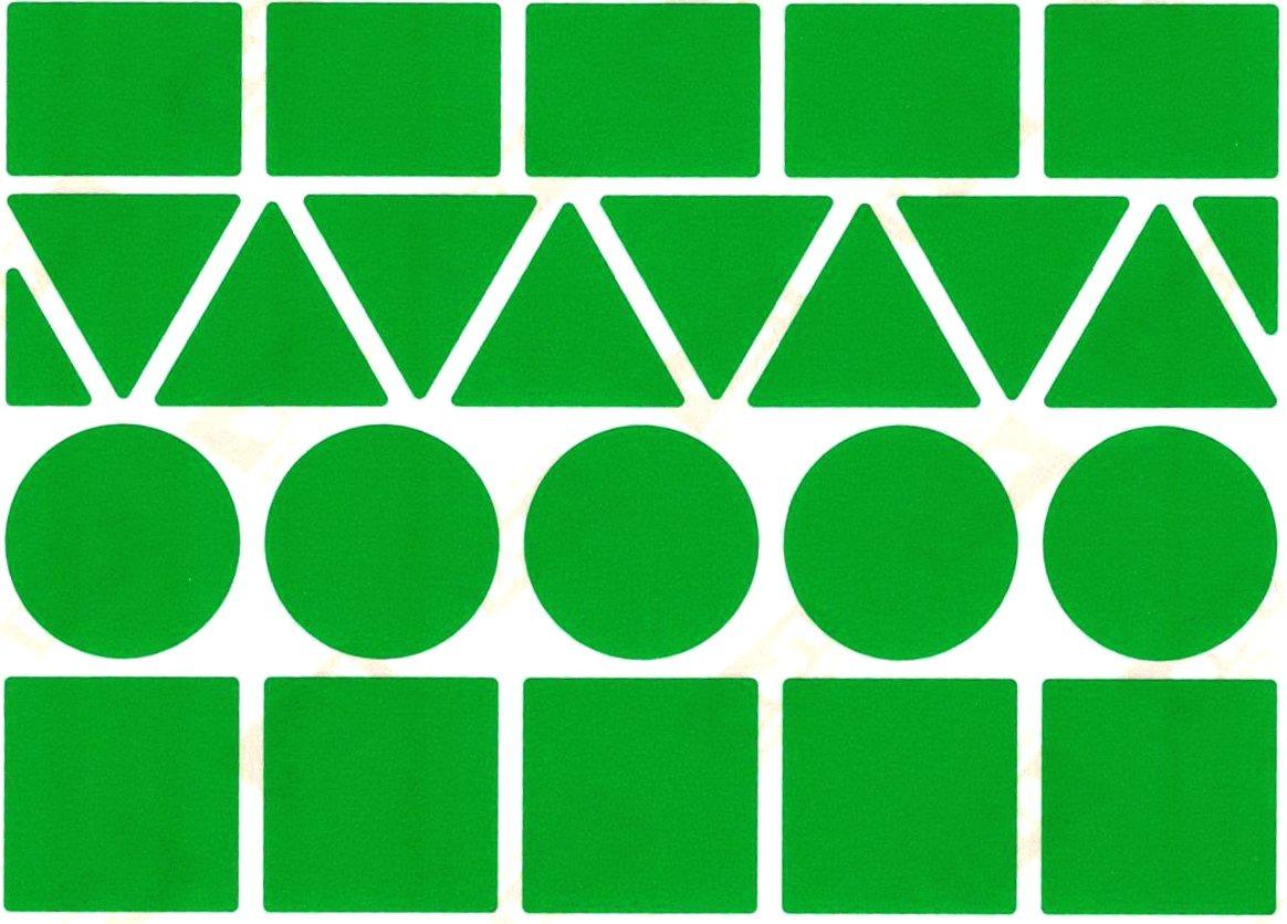 23 Gommettes Géantes Bébé vert
