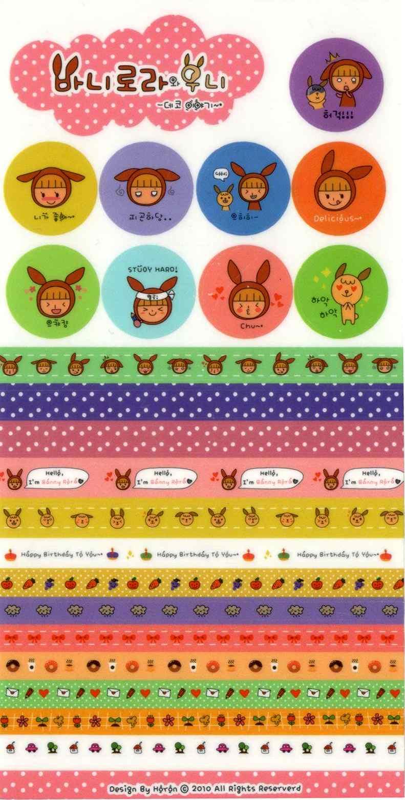 Kawaii Mini Masking Tape Delicious