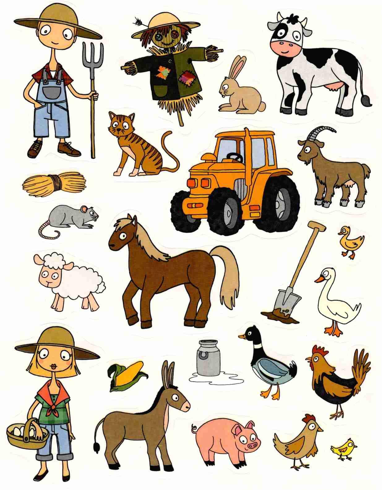 Gommettes animaux de la ferme magommette - Images d animaux de la ferme ...