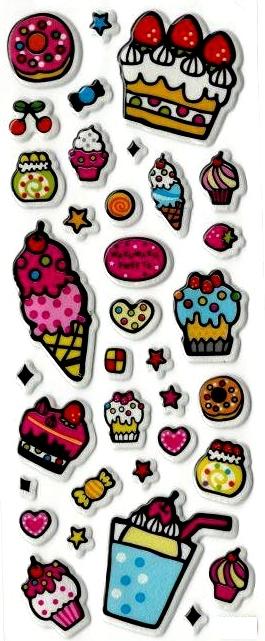 Stickers 3D Trop trop Bon !