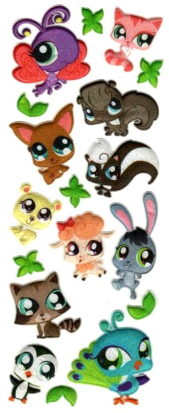 stickers pet shop