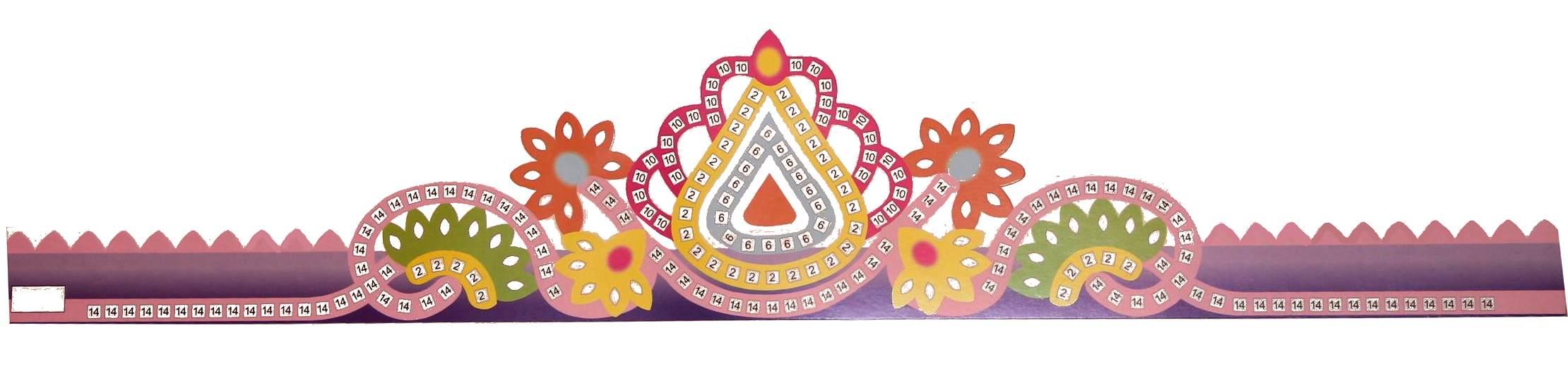 Couronne des rois mosaique loisirs cr atifs kits - Decoration couronne des rois ...