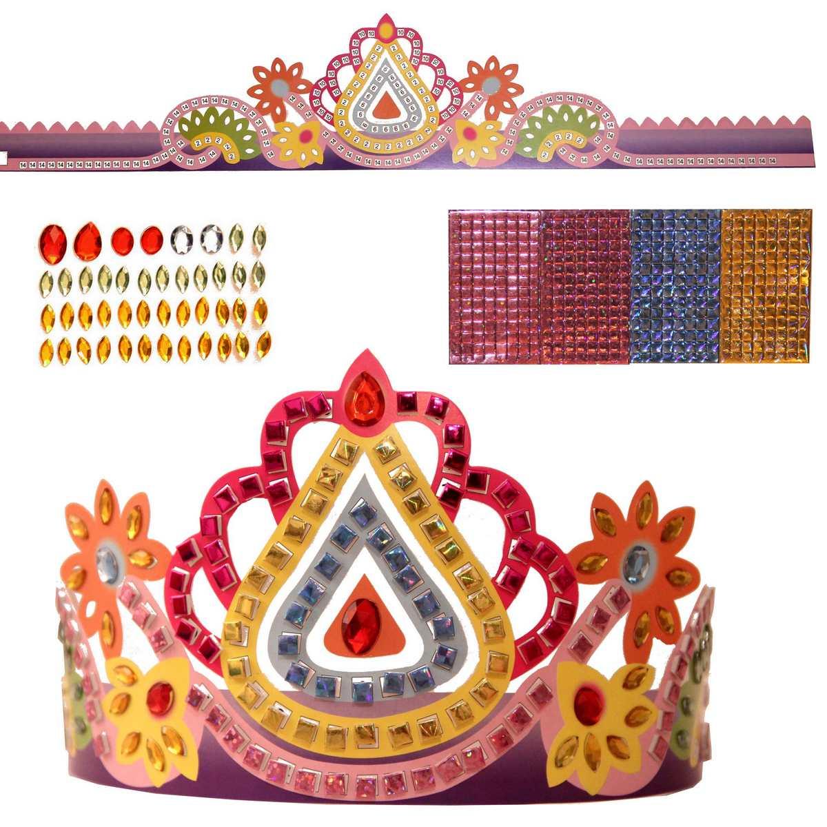 Concours gagne une couronne des rois en mosaique - Plaque mosaique autocollante ...