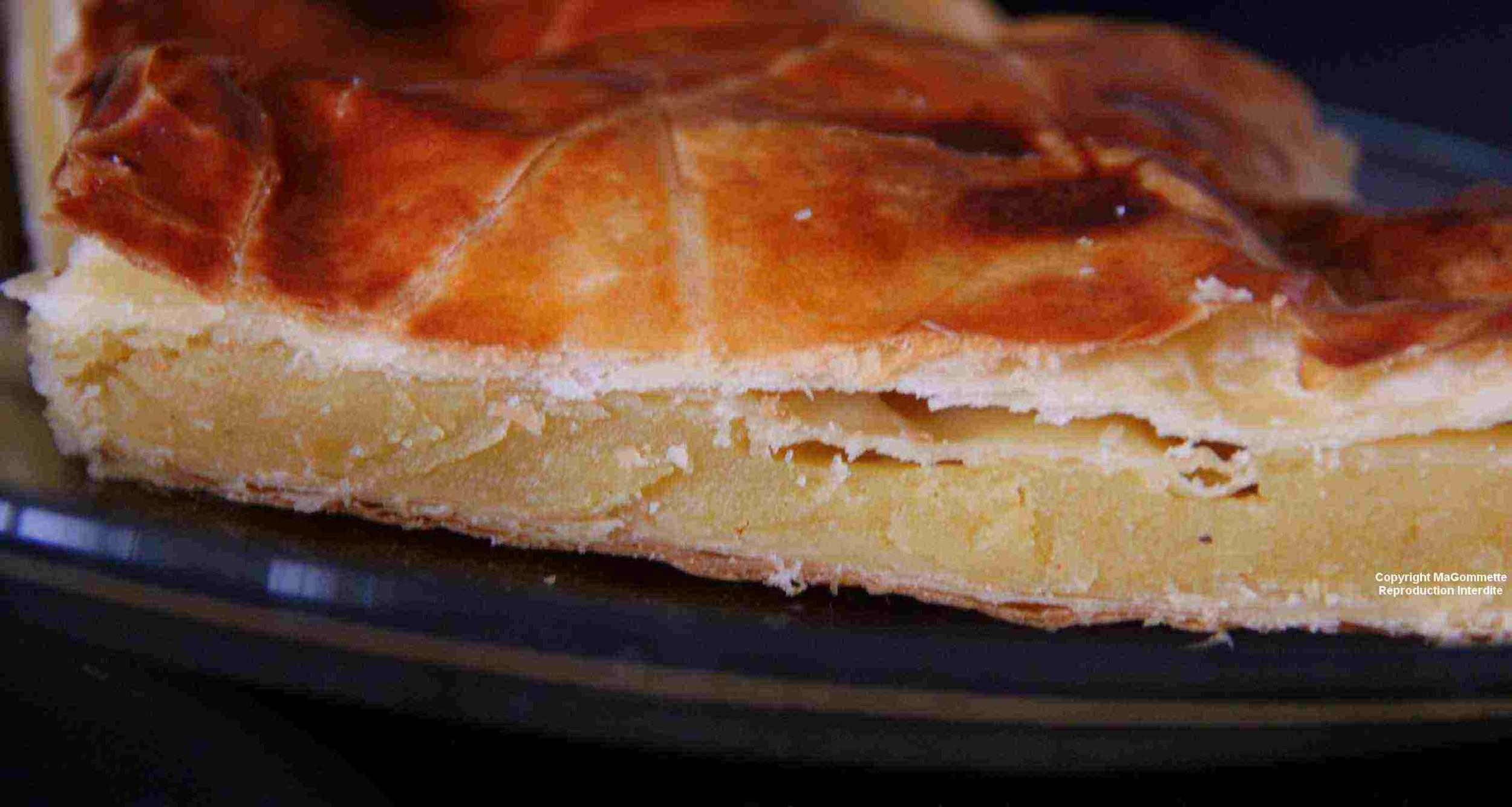 Recette facile de galette des rois la frangipane dans la cuisine magommette - Recette facile galette des rois ...