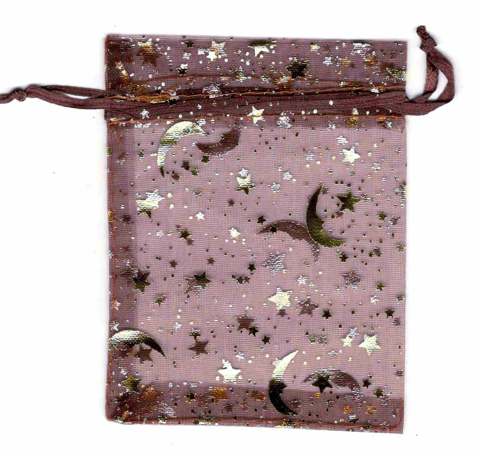 Sac Organza Chocolat