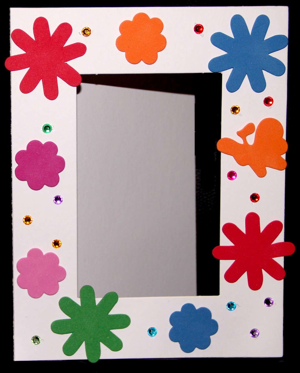 kit cadre photo avec gommettes et strass loisirs cr atifs cadres et objets d corer magommette. Black Bedroom Furniture Sets. Home Design Ideas