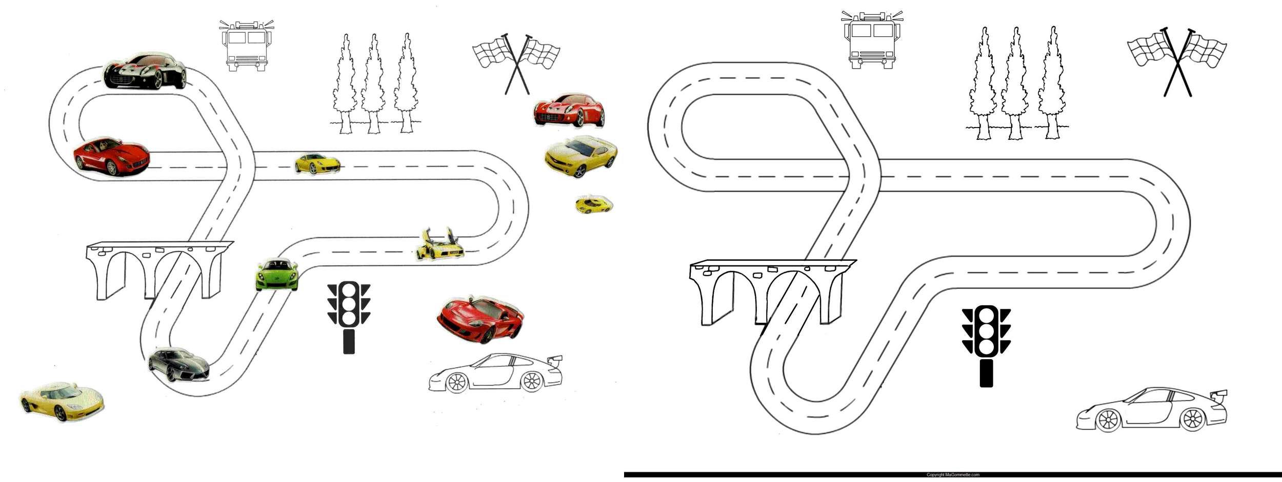 Mod les de dessins imprimer pour gommettes blog de ma gommette - Modele dessin voiture ...
