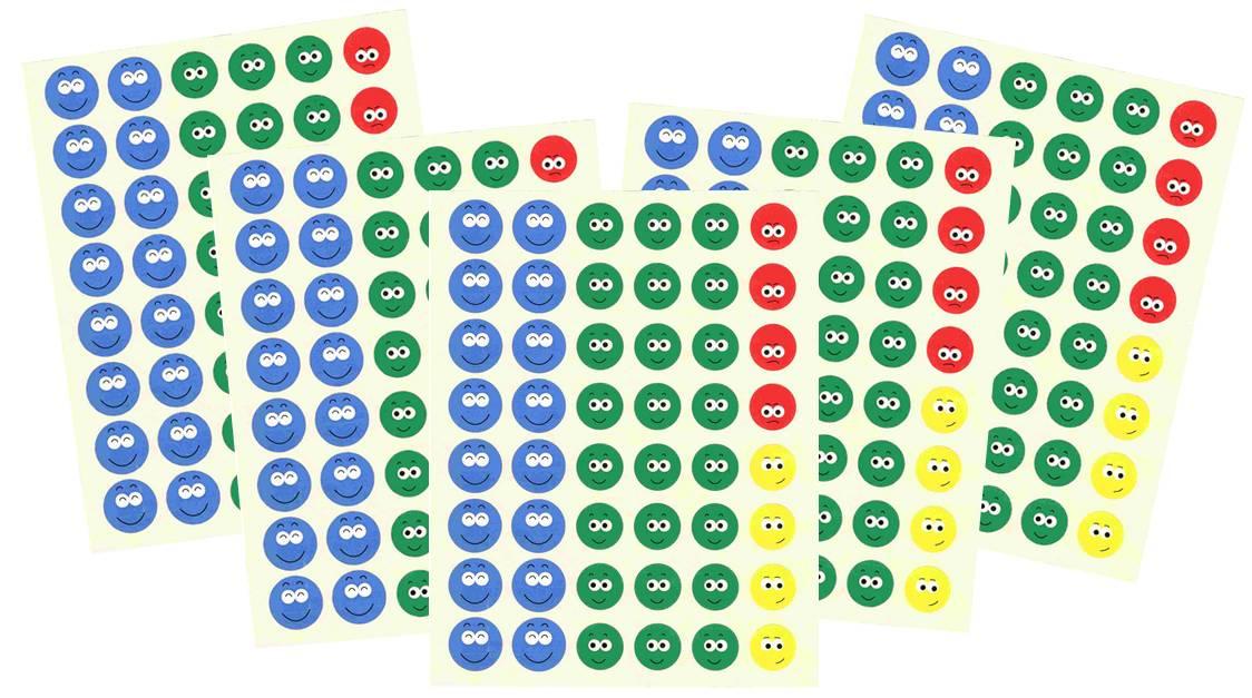 Lot de 240 Smiley\'s Ecole