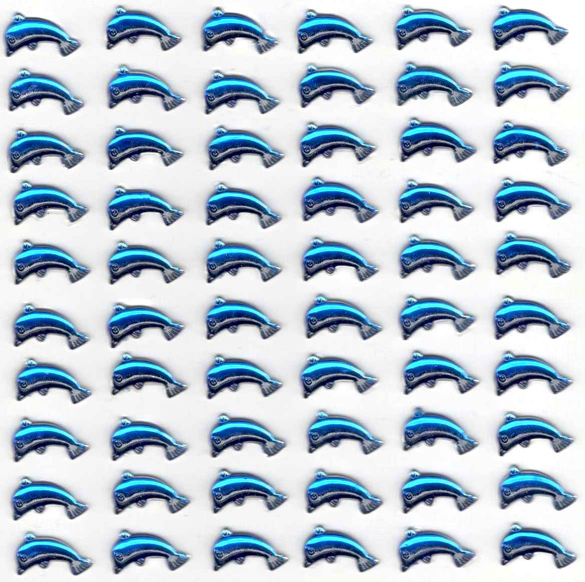 Stickers strass dauphins