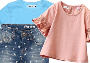 Étiquettes Thermocollantes pour vêtements ou tissu