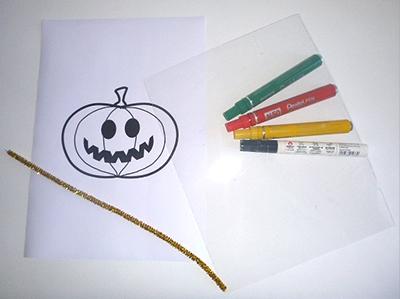 plastique fou bricolage halloween
