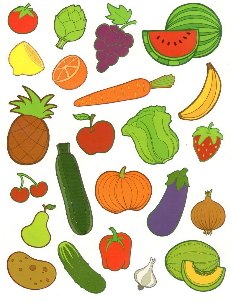 Gommettes Légumes