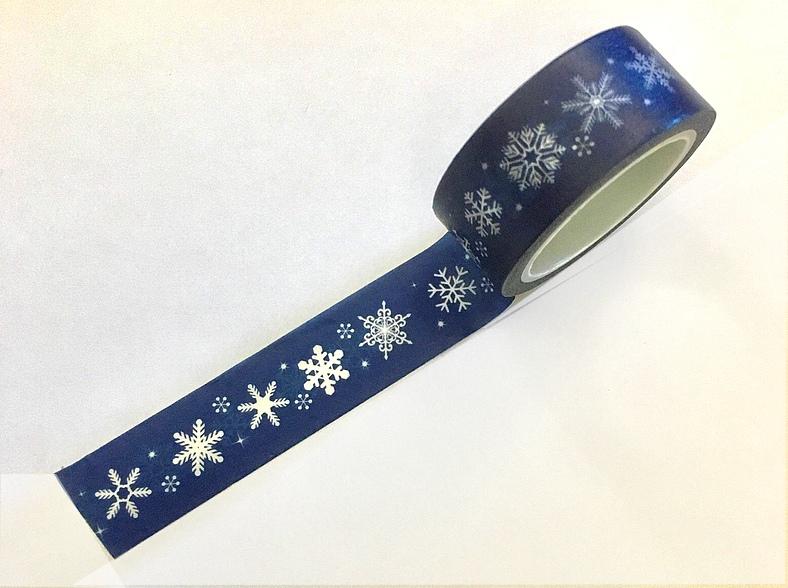 Masking Tape Cristaux de glace