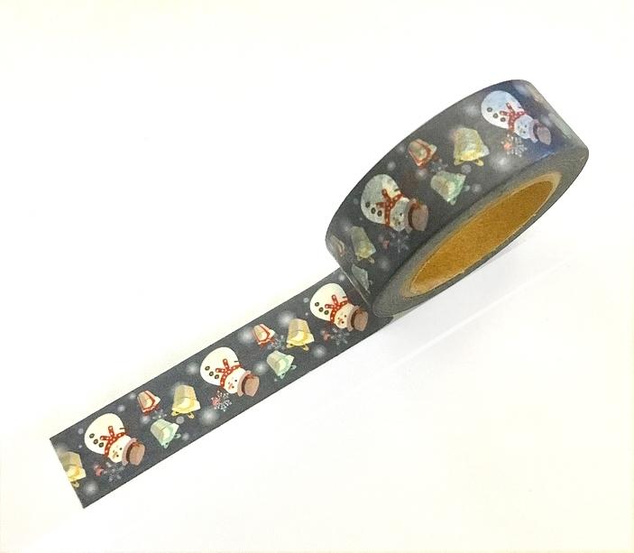Masking Tape Bonhommes de Neige et Cadeaux