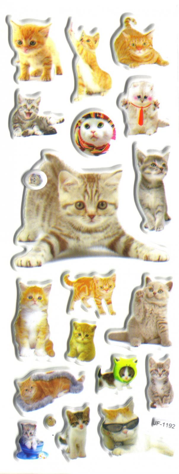 Gommettes Chats et Chatons  3D