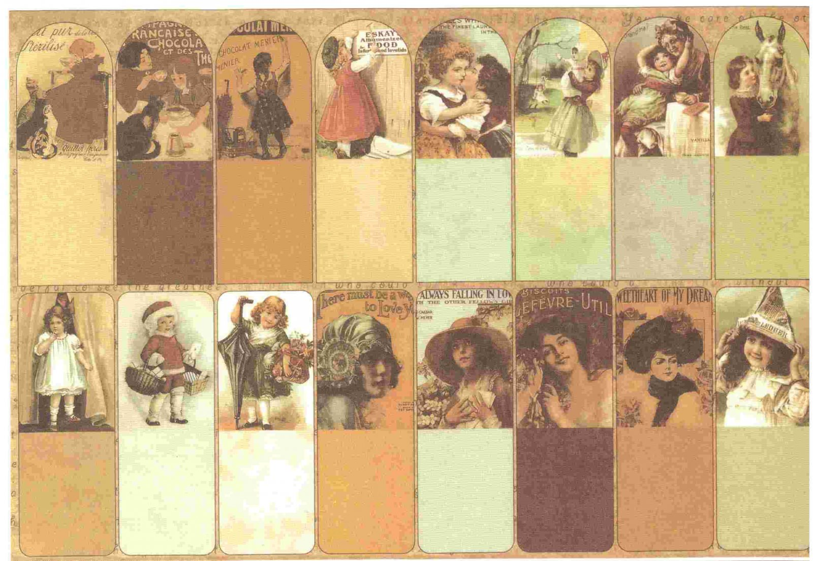 Sehr Etiquettes Scrapbooking Vintage Publicité - Stickers Scrapbooking  ZZ31