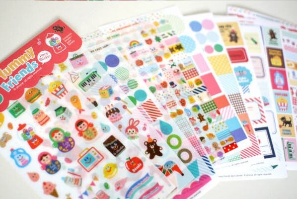 Kit Scrapbooking Poupées Russes et Yummi Friends