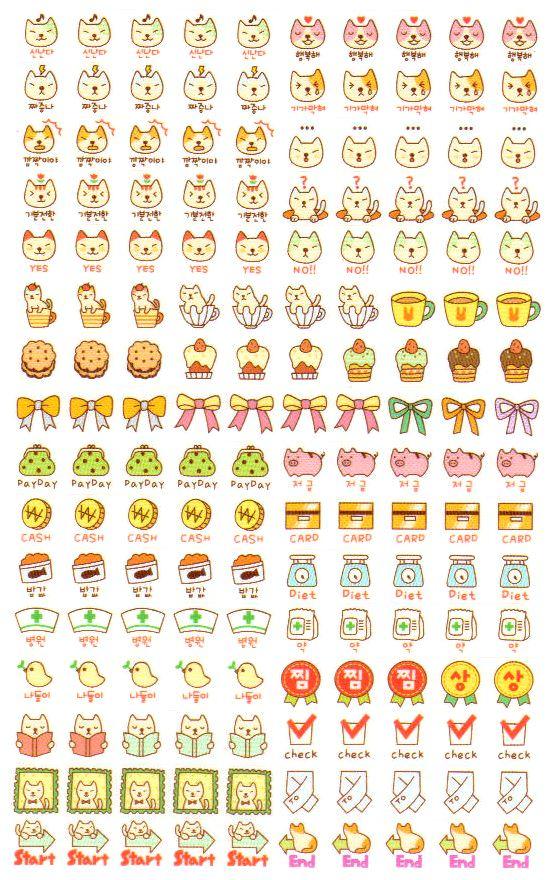 Chats Food List