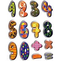 Sticker Chiffre Original 3D