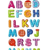 Gommettes Alphabet Paillettes 3D