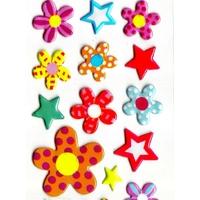 Gommettes Fleurs Coquettes 3D