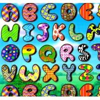 Gommettes Alphabet Ludique