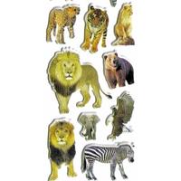 Gommettes Animaux du Zoo 3D