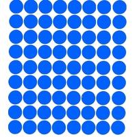 70 Gommettes Maternelle 19mm Bleu