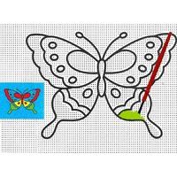Peinture Magique à L'eau Papillon