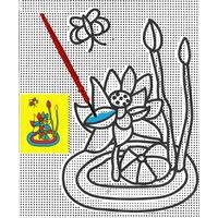Peinture Magique à l'eau Nénuphar