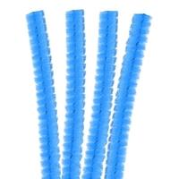 4 Fils Chenille Cure Pipe 30cm Bleu Ciel