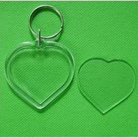 Porte clé coeur DIY