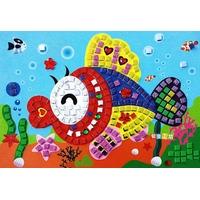 Mosaique Autocollante 21x24cm Poisson