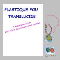 Plastique Fou Translucide A4 + 1 Echantillon offert