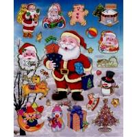 Gommettes Père Noël
