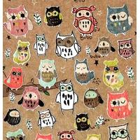 34 stickers Chouette des Hiboux !