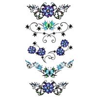 Tatouage Temporaire Fleurs