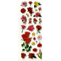 Gommettes Autocollantes Bouquets de Rose