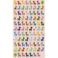 Stickers Au Pays des Girafes