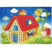 Mosaique Cristal 19x26cm Maison
