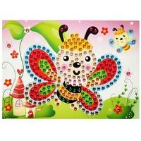 Puzzle Mosaique Cristal 19x26cm Papillon