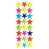 etoiles colorées enfant bebe apprendre les couleurs gommette autocollante sticker decoration JF1276
