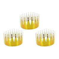 Lot de 3 couronnes à décorer