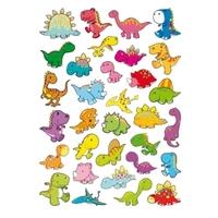 32 gommettes dinosaures