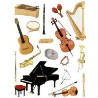 Gommettes Instruments de Musique