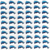 60 Dauphins Strass autocollants