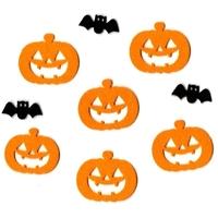 9 stickers en feutrine Halloween