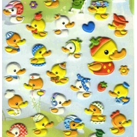 stickers canard 3D detail