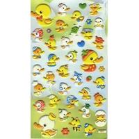 42 stickers 3D Les Petits Canards